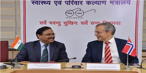 India and Norway sign MoU to extend health cooperation through NIPI