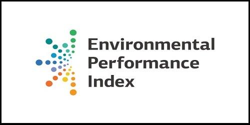 2018 Global Environment Performance Index (EPI) rankings; India at the bottom of EPI