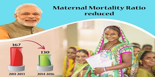India records 22% reduction in Maternal Mortality Ratio since 2013