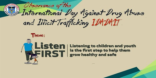 International Day Against Drug Abuse and Illicit Trafficking - 26 June