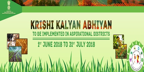 Krishi kalyan Abhiyaan to promote best farming practices and double farmers income launched in 25 villages