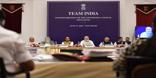 PM Narendra Modi To Chair Fourth Meeting Of NITI Aayog's Governing Council Today