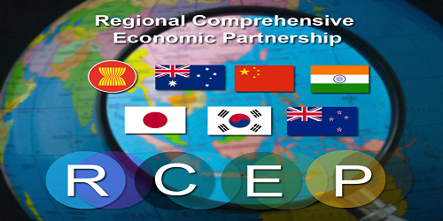 India has trade deficit with 10 out of 16 Regional Comprehensive Economic Partnership  members