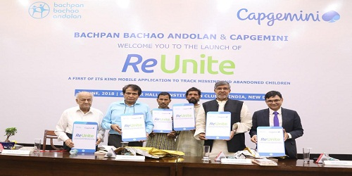 'ReUnite' : Mobile app launched by Suresh Prabhu to help track and trace missing and abandoned children