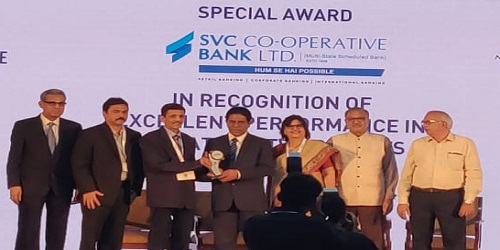 SVC Cooperative Bank awarded National Payments Excellence Award by NPCI