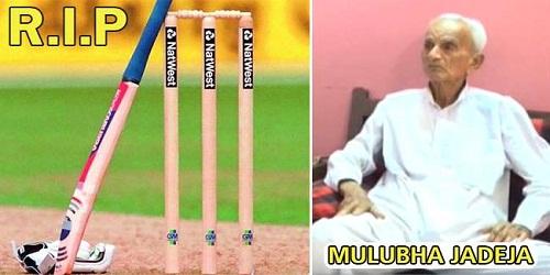 Former Saurashtra cricketer Mulubha Jadeja dead