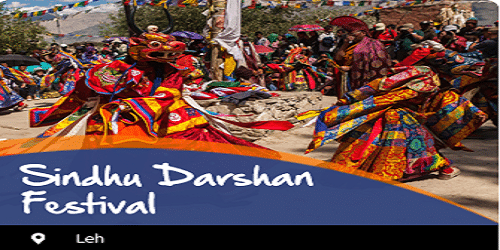 22ndedition of 3-day annual Sindhu Darshan Festival begins today in Ladakh region of J&K on the banks of Indus