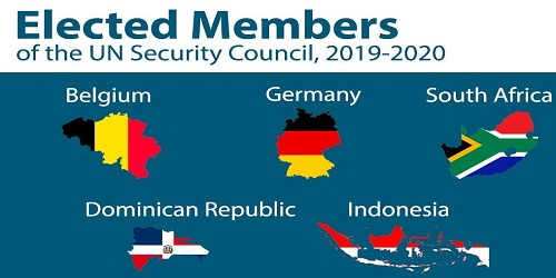 South Africa, Germany, Belgium elected non-permanent UNSC members