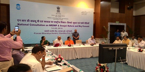 Swajal scheme of Ministry of Drinking Water and Sanitation launched in 115 Aspirational Districts of India