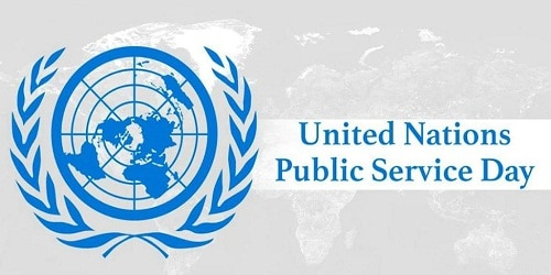 United Nations Public Service Day - 23 June