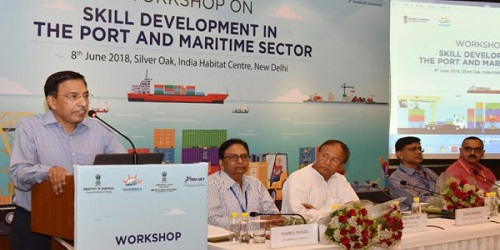 Workshop on Skill Development in Port and Maritime Sector under Ministry of Shipping