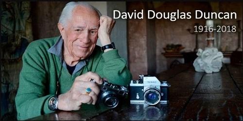 World War II photographer David Douglas Duncan dies at 102