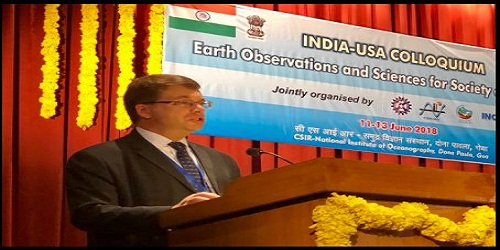 2nd edition of India-US colloquium on Earth Observations and Sciences for Society and Economy by CSIR and NOAA.