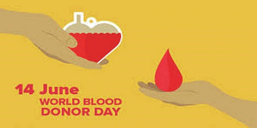World Blood Donor Day - 14 June 2018