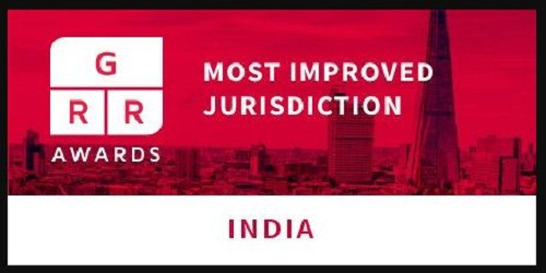 "Global Restructuring Review's award for ""most improved jurisdiction"" goes to India for improved insolvency and restructuring regime"