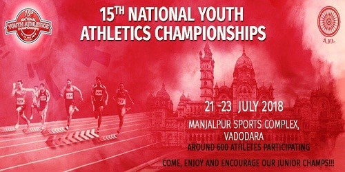15th National youth athletics championships