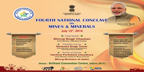 4th National Conclave on Mines and Minerals will strengthen mineral auction regime