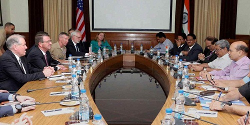 7th Defence Technology and Trade Initiative : Indo-US delegation meeting on Defence Cooperation held in New Delhi