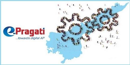 Andhra Pradesh Chief Minister N. Chandrababu Naidu launches e-Pragati core platform