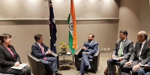 Discussions on Education Cooperation with Australia held on Australia-India Ministerial Dialogue 2018