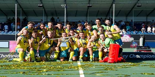 Australia wins Champions Trophy 2018 (hockey)