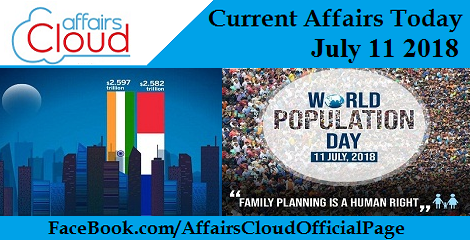 Current Affairs Today July 11 2018