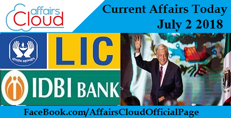 Current Affairs Today July 2 2018