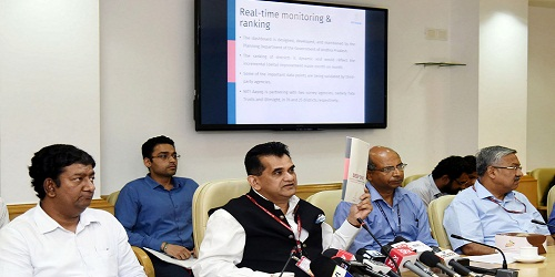First Delta Ranking of Aspirational Districts released by NITI Aayog