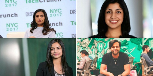 Four Indian-origin names including 3 women in list of Fortune's 40 young influential people