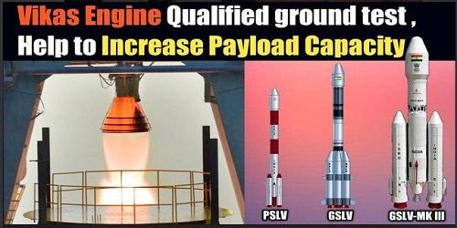 ISRO scientists successfully performed a ground test of Vikas Engine in Mahendragiri, Tamil Nadu
