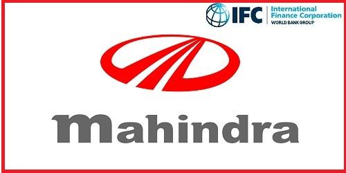 World Bank armInternational Finance Corporation (IFC) invests $100 mn inMahindra & Mahindra Financial Services Ltd. (M&M).