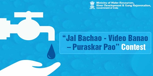 """""""Jal Bachao, Video Banao, Puruskar Pao"""" fortnightly Contest launched on Water Conservation: Ministry of Water Resources"""