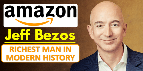 Jeff Bezos topped the Bloomberg Billionaires Index 2018 and is the richest man in modern history having $152 billion