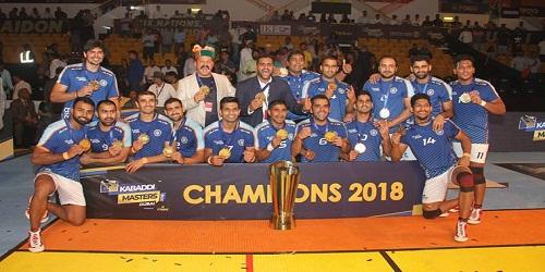 India wins six-nation Kabaddi Masters Dubai title in Dubai