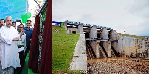 Odisha CM inaugurated Rs 300 crore Rukura irrigation dam project in Sundargarh