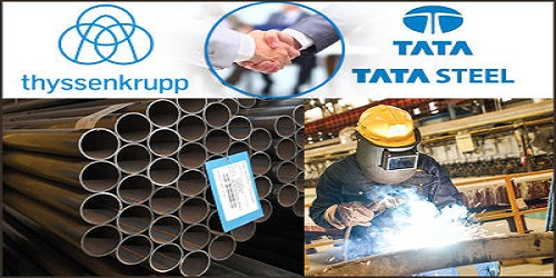 Tata Steel starts a JV with Germany's Thyssenkrupp to create new Europe's 2ndlargest steel giant