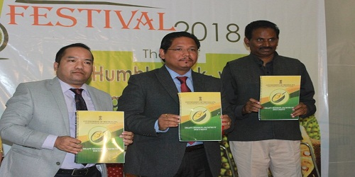 Meghalaya CM releases policy document on jackfruit mission