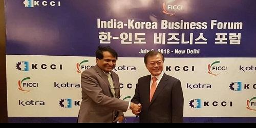 Korean President Moon Jae-in to attend India-Korea Business Forum in New Delhi