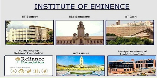 6 public and private institutesgranted the title of 'Institutions of Eminence' status :HRD