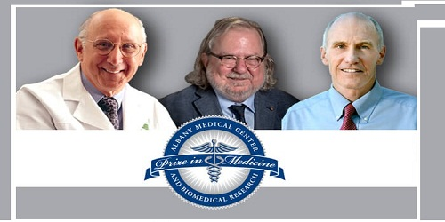 2018 Albany Medical Center Prize to be awarded to 3 US Scientists for Medicine and Biomedical Research