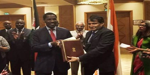 8th India - Kenya Joint Trade Committee meeting held in Nairobi, Kenya from August 22-25, 2018