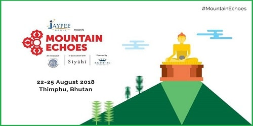 9th edition of Mountain Echoes Literary Festival 2018 held in Bhutan