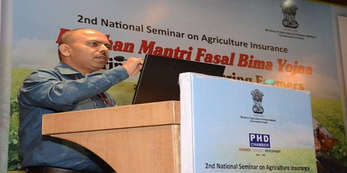 Ashish Kumar Bhutani has been appointed CEO of Pradhan Mantri Fasal Bima Yojana (PMFBY)
