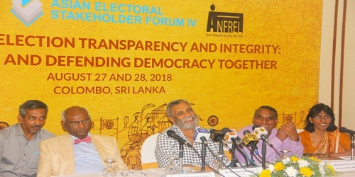 4th ASIAN ELECTORAL STAKEHOLDER FORUM IV(AESF-IV) held in Colombo Sri Lanka on 27th and 28th August