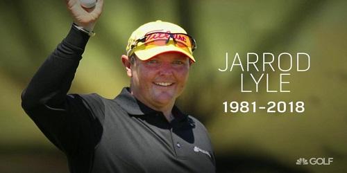 Australian golfer Jarrod Lyle Passed away