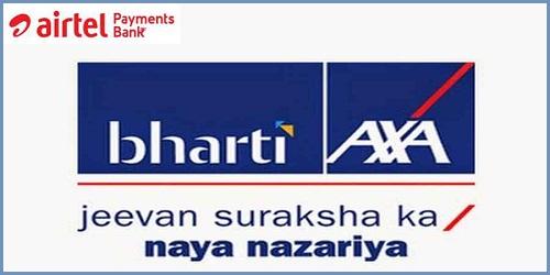 Bharti AXA & Airtel Payments Bank partnered to offer Pradhan Mantri Jeevan Jyoti Bima Yojana