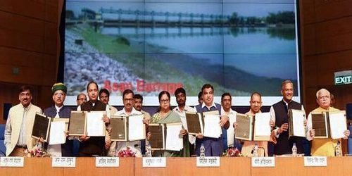 Centre signs MoU with 6 states for Lakhwar Yamuna basin project in Uttarakhand for water management