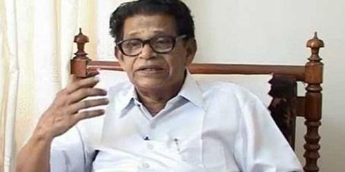 Noted Malayalam poet and Sahitya Akademi awardee Chemmanam Chacko died at 92