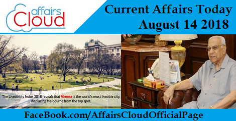 Current Affairs Today August 14 2018