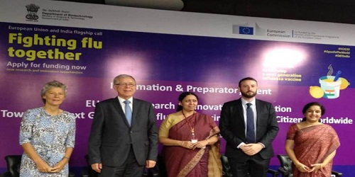 EU-India join hands to develop new Influenza vaccine